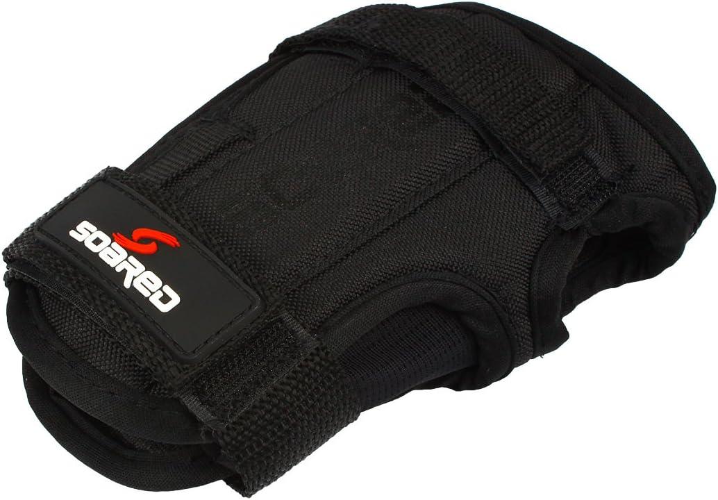 Andux Ski Gloves Wrist Palms Protection Roller Skating Hard Gauntlets Adjustable HXHW-05