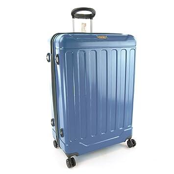 68ae8009d3 Jeep Canyon 4 Wheel Large / Medium / Cabin Lightweight Hardside Suitcase  (Carry on 54cm, Dark Blue): Amazon.co.uk: Luggage