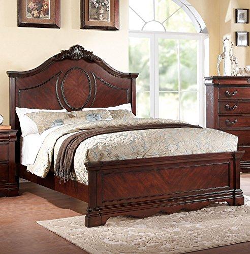 Acme Furniture Estrella 20730Q Queen Bed, Dark Cherry