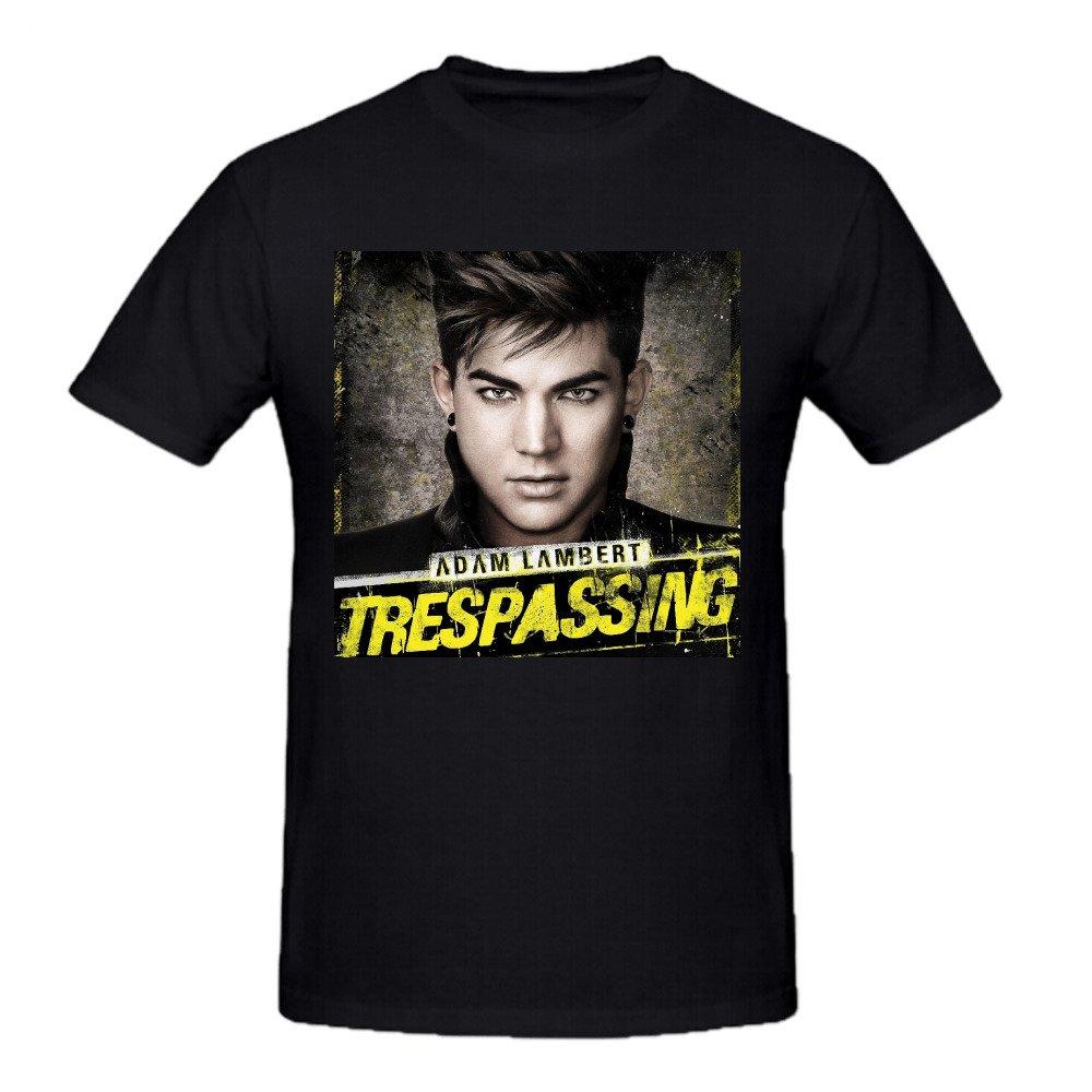 Adam Lambert Trespassing S Grey Ts Crew Neck Shirts