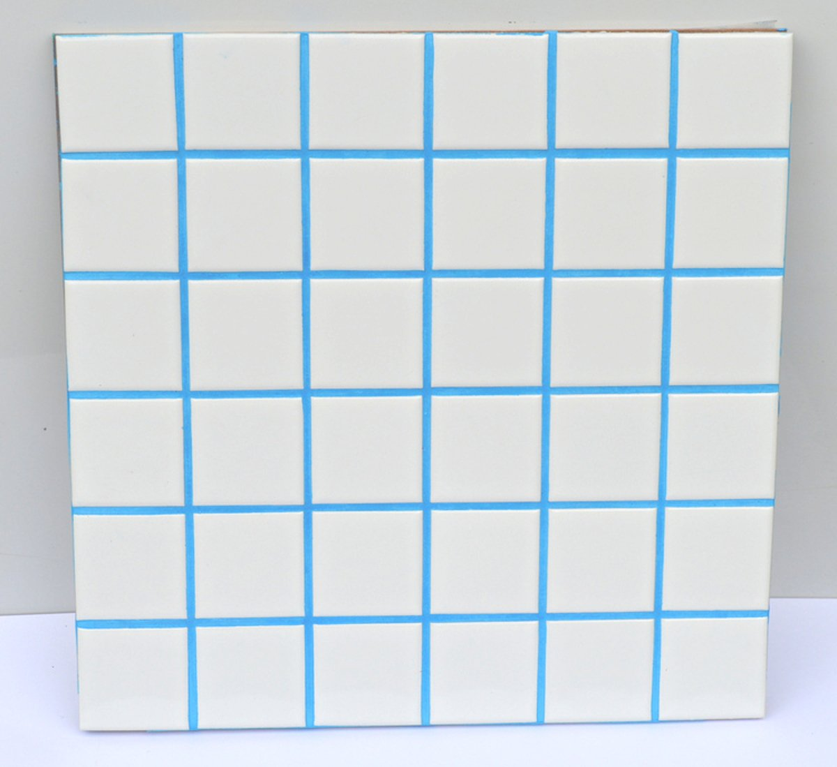 Sky Blue Unsanded Tile Grout - 5 lbs - with Blue Pigment in The Mix