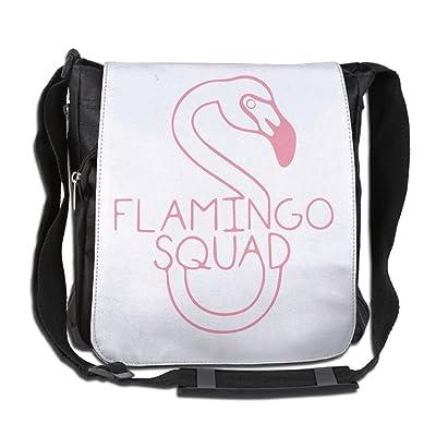 Flamingo Squad Fashion Print Diagonal Single Shoulder Bag