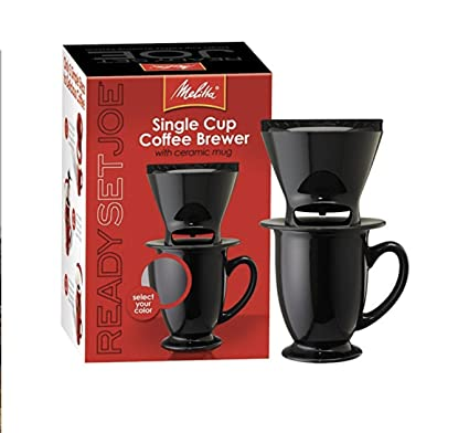 Amazoncom Melitta Inc Coffee Maker 1 Cup Black And Res 1 Ea