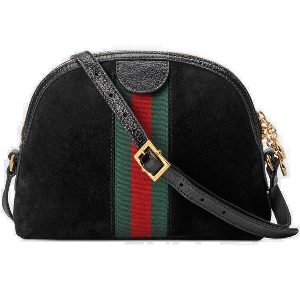 3dea1d538e8d86 Amazon.com: Gucci Ophidia Small Shoulder Bag Black Article: 499621 D6ZYG  1060 Made in Italy: Shoes