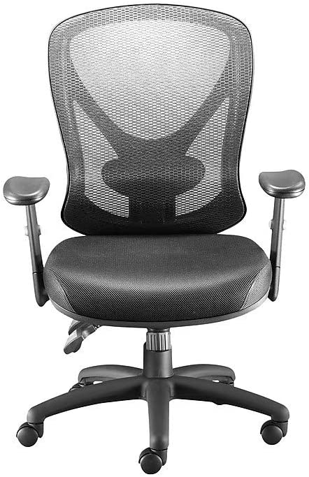 STAPLES 136815 Carder Mesh Office Chair Black (24115-CC)