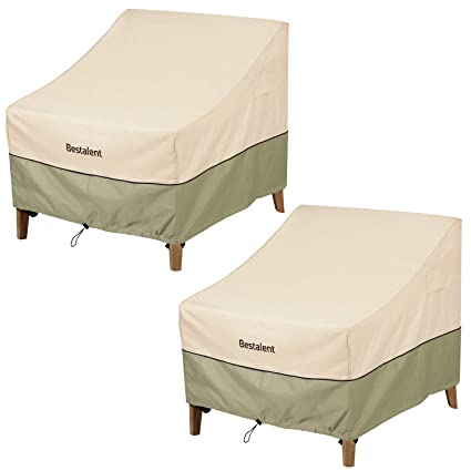 Amazon.com: Bestalent Patio Adirondack - Funda impermeable ...