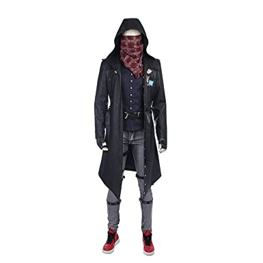 Tisea Pubg Mens Wind Coat Jacket And Cosplay Costume Accessories Us Xsasian S