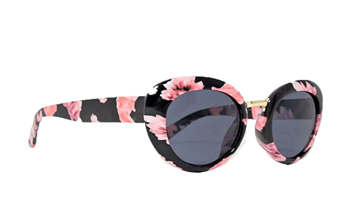 Floral Sunglasses (Floral) at Amazon Womens Clothing store: