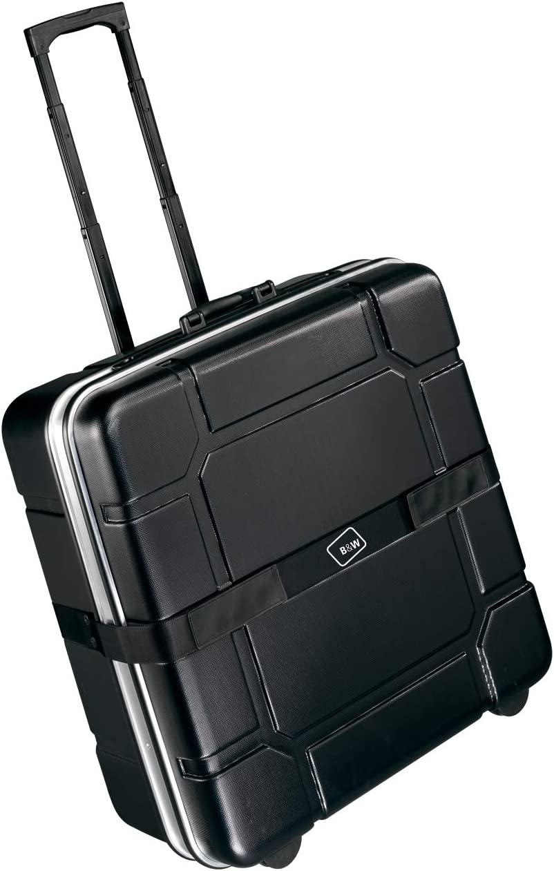 B&W International Foldon Case - Maleta Porta Bicicletas, Color Negro