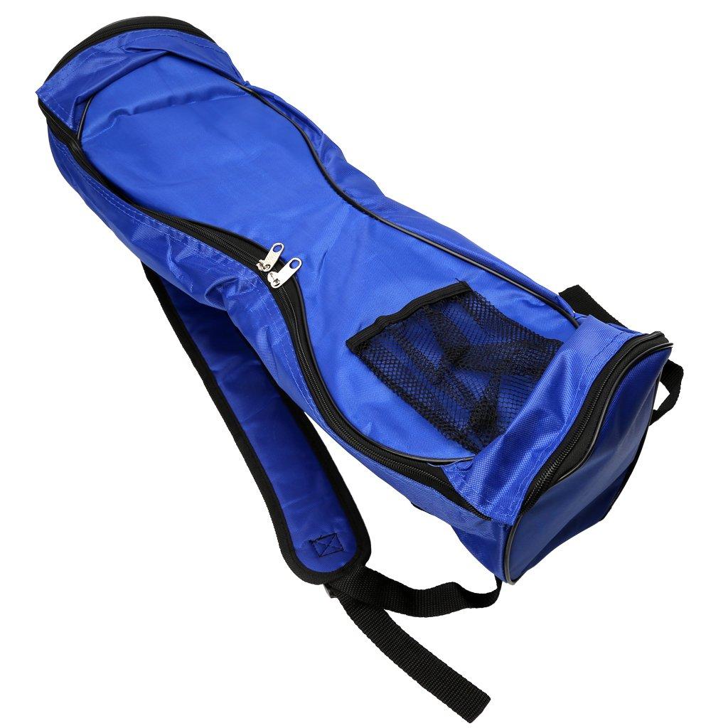Hared 6.5'' 2 Wheel Electric Hover Board Carrying Bag Storage Bag Self Balane Scooter Backpack Carrying Bag Case-Adjustable Shoulder Straps (Blue)