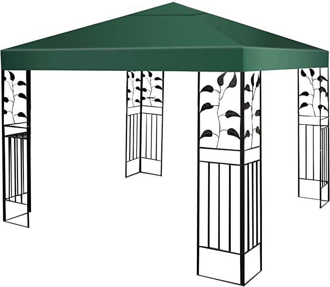 Costway - Techo de repuesto para cenador de jardín - Cobertura de ...