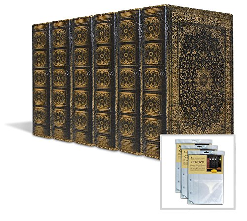 (Bellagio-Italia Olde World Persian DVD, CD, Book Bok. 6-Pack with 3 Insert Sheets )