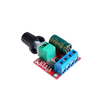 Control Switch Controller LED Dimmer PWM Speed Mini DC 3V-35V 5A Motor