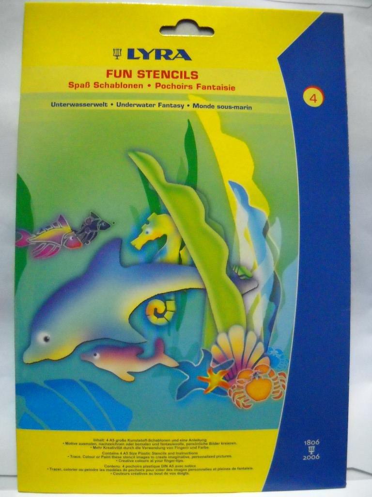 LYRA Fun Stencils-Underwater by Lyra (Image #1)