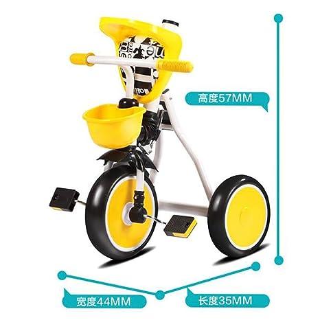 Ciclomotor triciclo del triciclo de los niños bicicleta plegable: Amazon.es: Deportes y aire libre