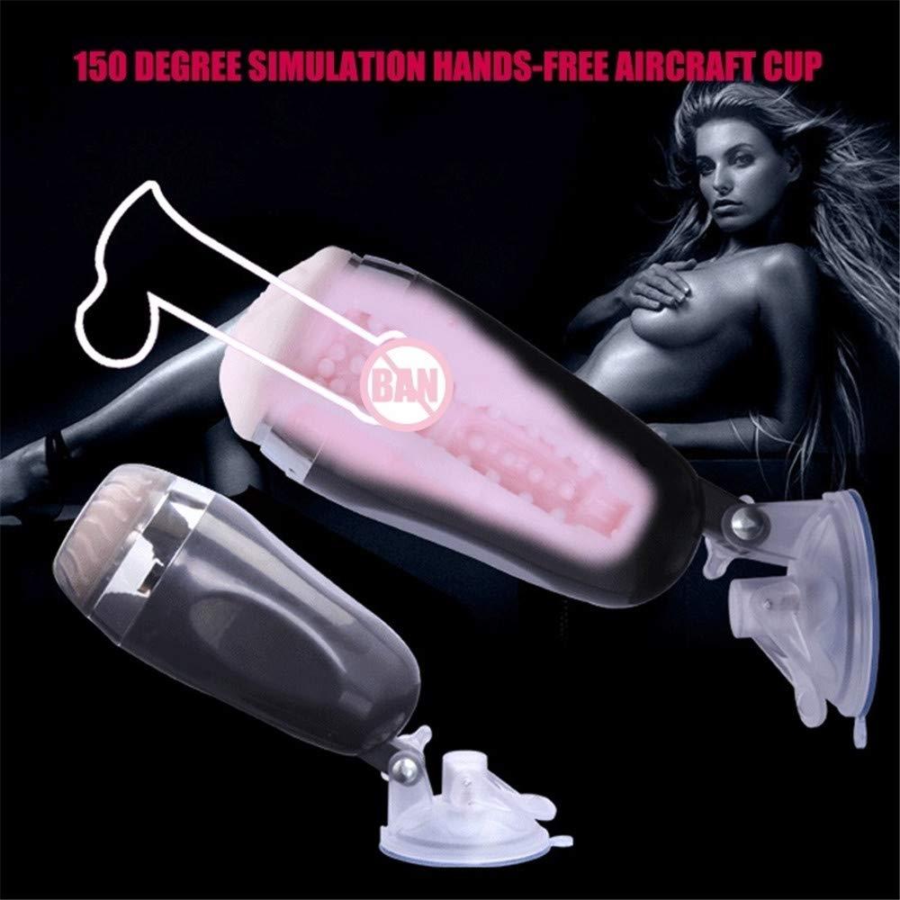 JASNO Masturbación automática Masculina con Realista,blanco Manos Libres, masturbación genital y Sexo Vaginal Realista,blanco con d8f76f