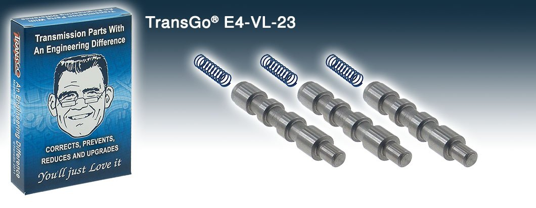 Transgo E4OD 4R100 Steel replacement 2-3 Shift Valves E4-VL-23