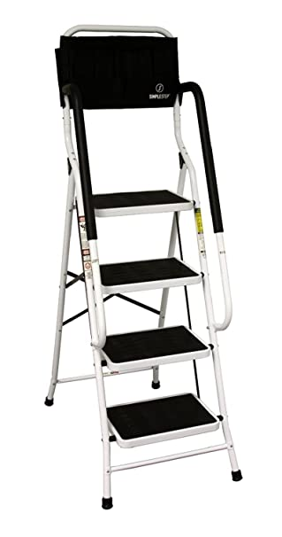 Allstar Innovations Simple Step 2 in 1 Step Stool and Ladder with Safety Rails and Bonus  sc 1 st  Amazon.com & Allstar Innovations Simple Step 2 in 1 Step Stool and Ladder with ... islam-shia.org