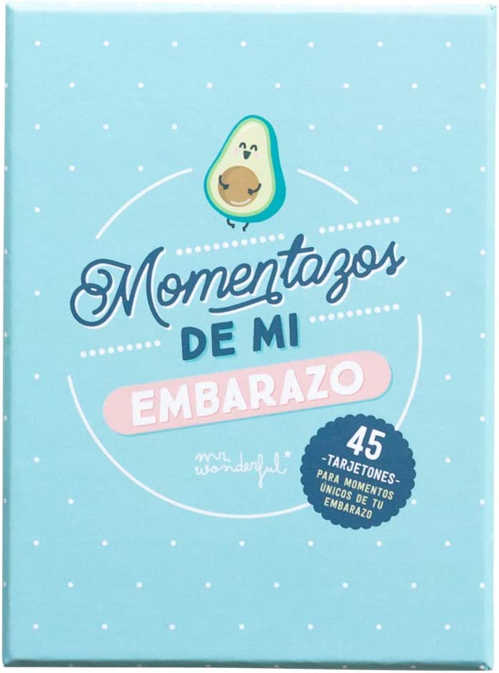 Mr. Wonderful WOA10401ES Tarjetas de Embarazo - Momentazos de Mi Embarazo