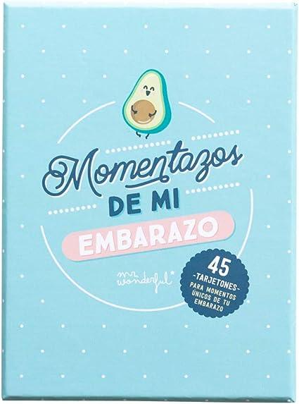 Mr. Wonderful WOA10401ES Tarjetas de Embarazo - Momentazos de Mi Embarazo: Amazon.es: Oficina y papelería