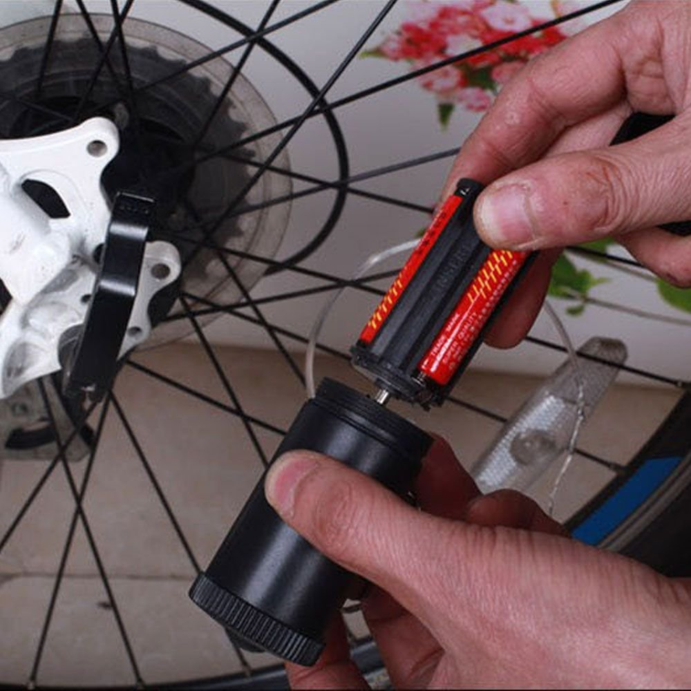 WEKA 1 Stück Fahrrad Rad Reifen Draht Felge 20 LED Reflektor Rosa ...