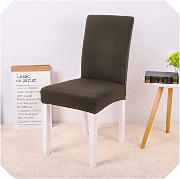 Amazon.com: MOMO 6 Pcs Chair Cover Spandex Dining Room ...
