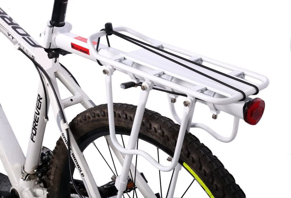 West Biking - Portaequipajes para bicicleta con 3 cierres rápidos ...