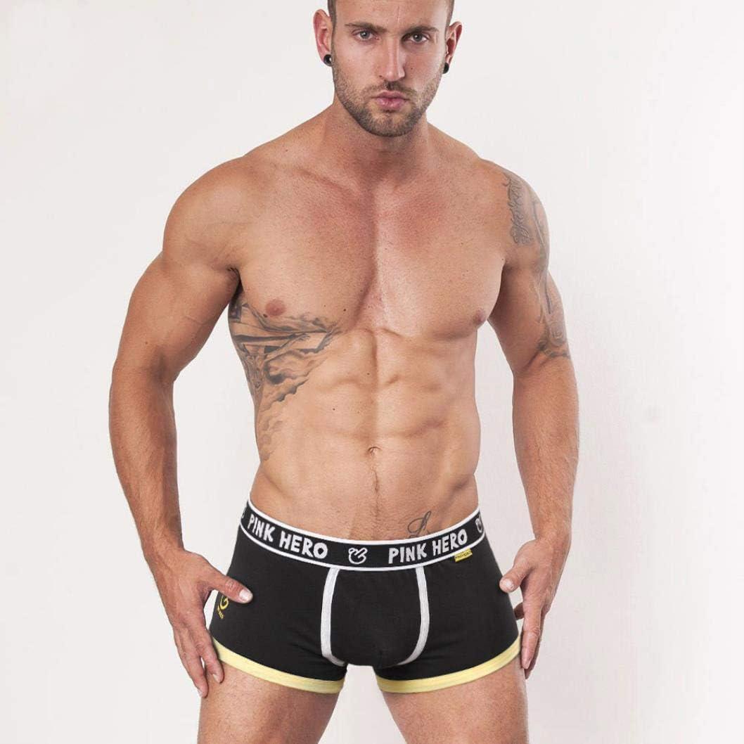 5pcs\lot Classic Men Underwear Boxers Cotton Panties Comfortable M//L//XL//XXL