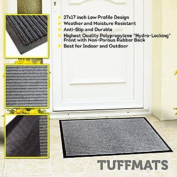 Amazon.com : B&G Indoor Doormat Super Absorbs Mud Latex Backing ...