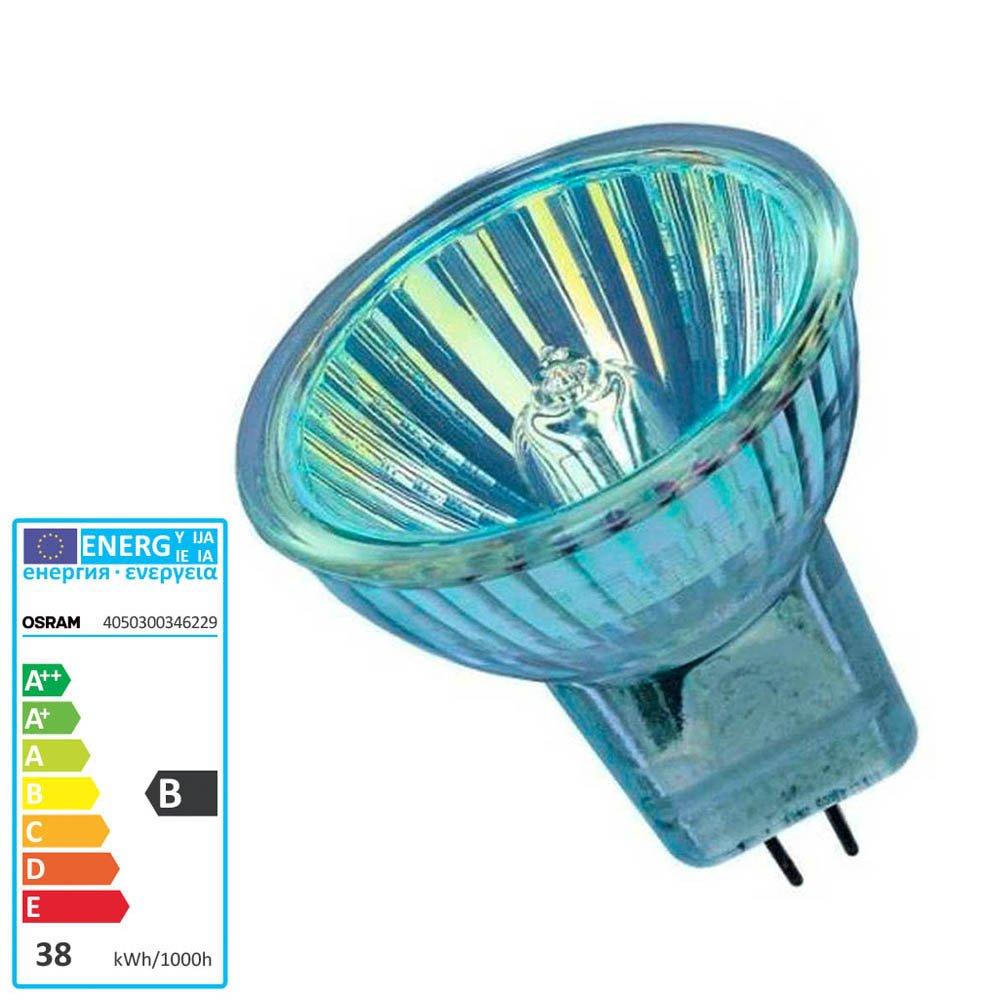 Osram Halogen Light Bulb 12 Volt 35 Watt GU4 10 Degrees Spot 44892SP 0346229