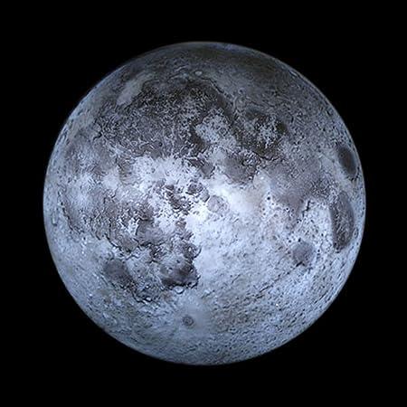 Luz de la luna luz nocturna, Lámpara de pared con mando a ...