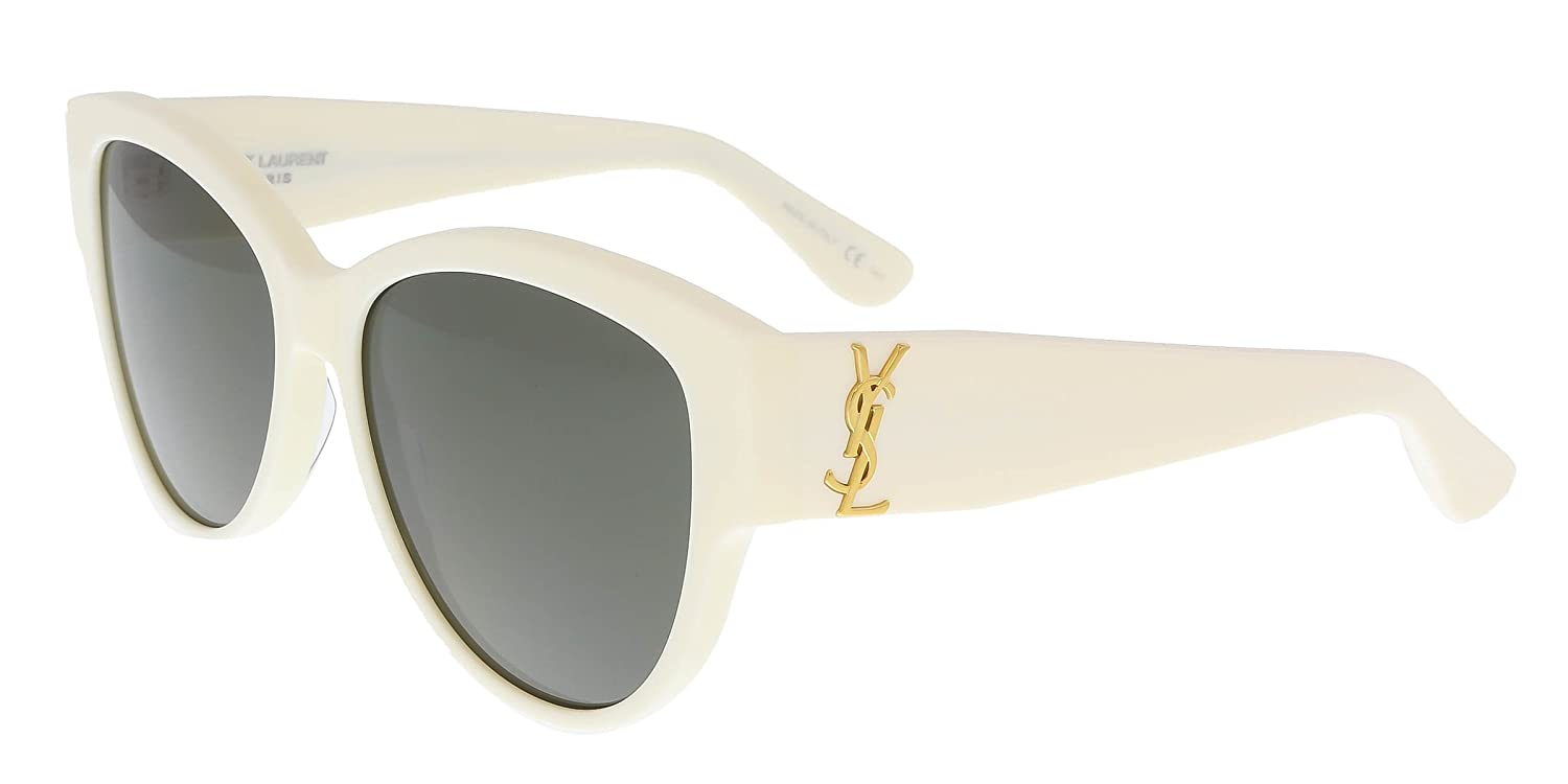47a36d2327 Sunglasses Saint Laurent M 3 SL M 007 IVORY   GREY   IVORY