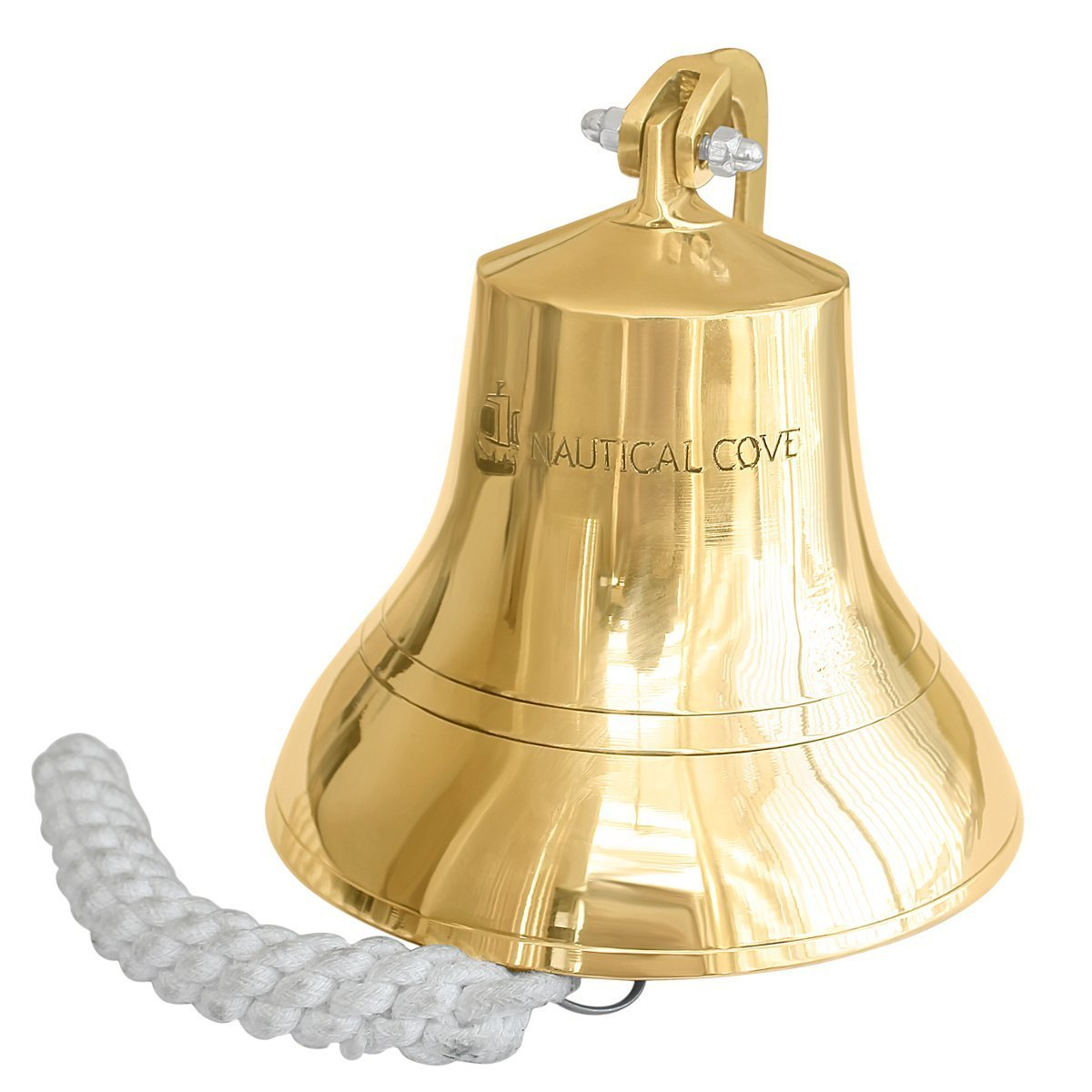 Nautical Vintage Wall Hanging Door Bell Vintage Marine Brass Ship Calling Bell Delicacies Loved By All Antiques
