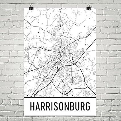 Amazon Com Harrisonburg Poster Harrisonburg Art Print