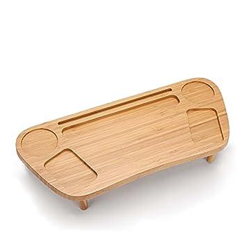Multifuncional caja de pañuelos servilletero de madera mando a distancia caja de almacenaje organizador de escritorio oficina escritorio mesa cajas snlm: ...