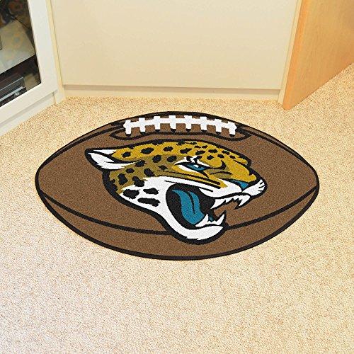 Fanmats Jacksonville Jaguars Football (Jacksonville Jaguars Football Shape Rug)