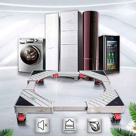 Estructura para lavadora, pedestal, para lavadora, color rojo, con ...