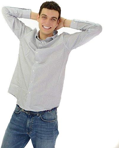 Camisa Calvin Klein Topos Azul Marino para Hombre: Amazon.es: Zapatos y complementos