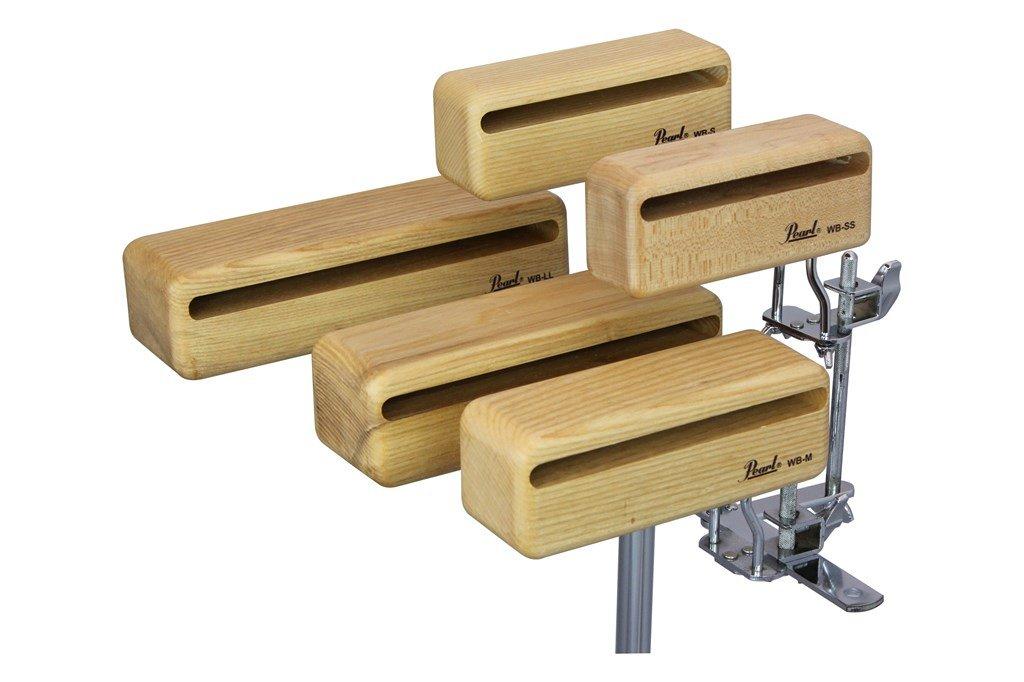 Pearl ( パール ) WB-L (80x70x230mm) Orchestra Wood Block / オーケストラウッドブロック Lサイズ単体(1個)   B06WWMRRZG