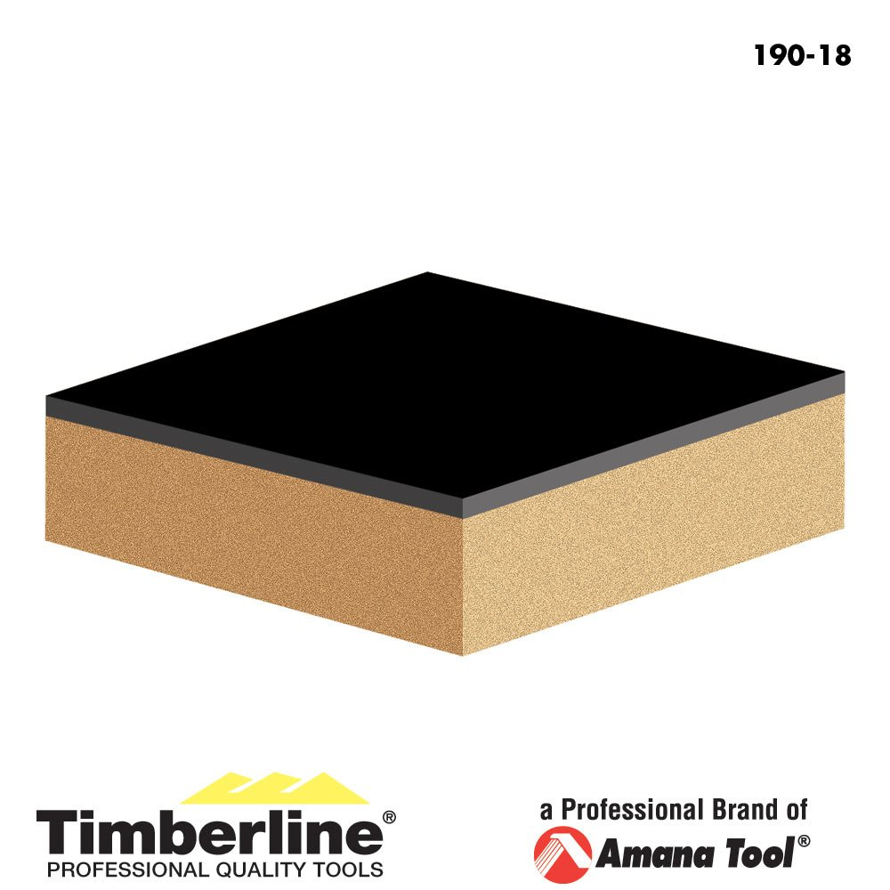 Timberline 190-18 Flush Trim with Upper Ball Bearing Guide 1//2-Inch Diameter by 1-Inch Cutting Height by 1//4-Inch Shank Carbide Tipped Router Bit Amana Tool