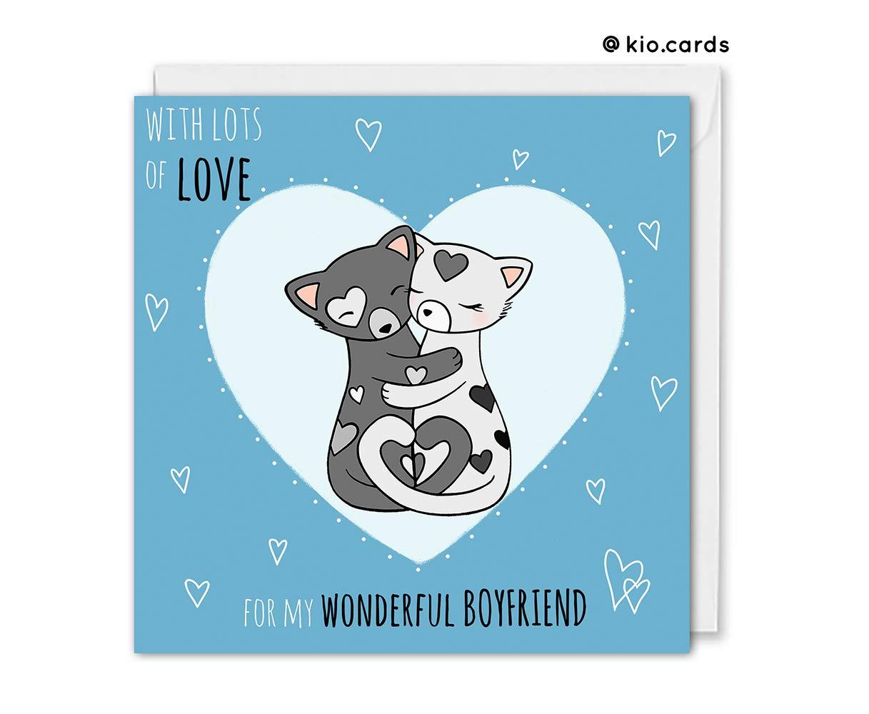 Boyfriend Birthday Romantic Boyfriend Card Boyfriend Anniversary