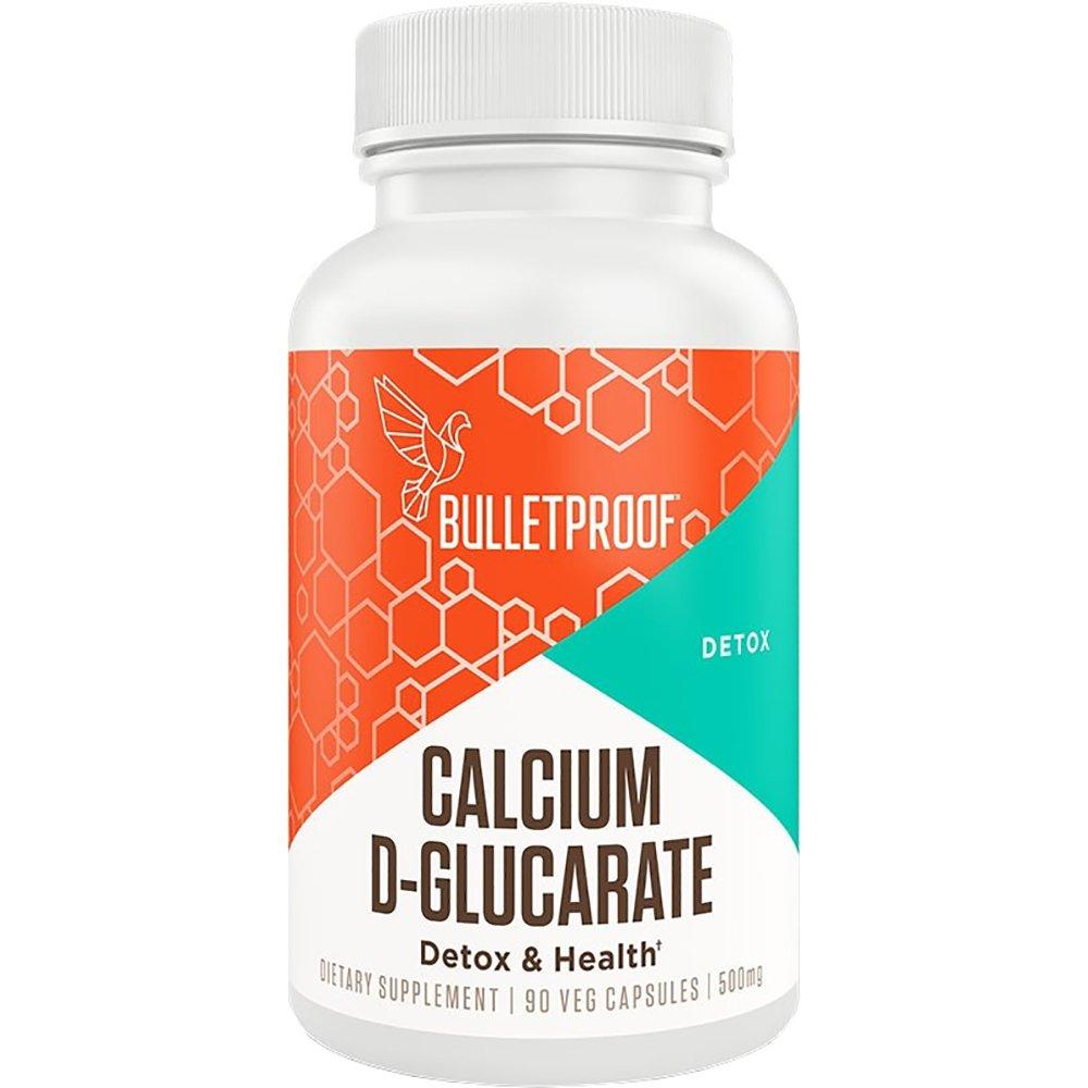 Bulletproof Calcium D-Glucarate, Aids Healthy Hormone Metabolism (90 Vegetable Capsules)