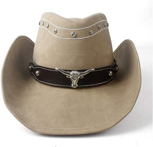 NTFZ Sombreros y Gorras Sombrero de Vaquero Occidental for ...