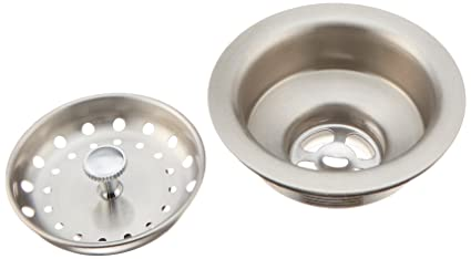 Franke 4010856 Stainless Steel Kitchen Sink Drain And Strainer Kit, Fits 3  1/2u0026quot