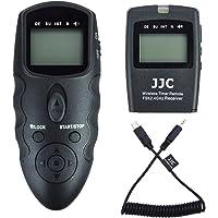 JJC Télécommande de sans Fil Déclencheur à Distance Intervallometre pour Sony Alpha A7RIII A7III A7RII A7R2 A7SII A7II A7R A7S A7 A6500 A6400 A6300 A6000 A5100 A5000 RX100 VI V IV III