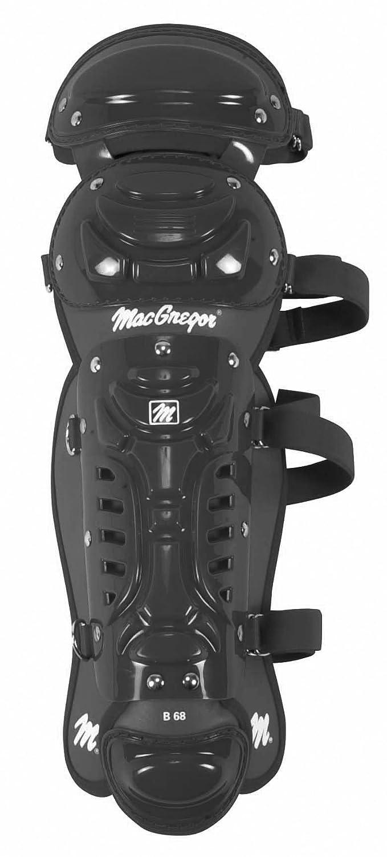 Macgregor 1159431 Macgregor B68 Double Knie Jr Bein Guard schwarz B000J6BCKW Schoner Rabatt