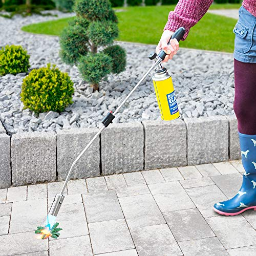 Vivo Technologies Green Habitats Weed Burner Wand Killer Blow Torch – Removes and Kills Weeds from the Roots [No Gas…