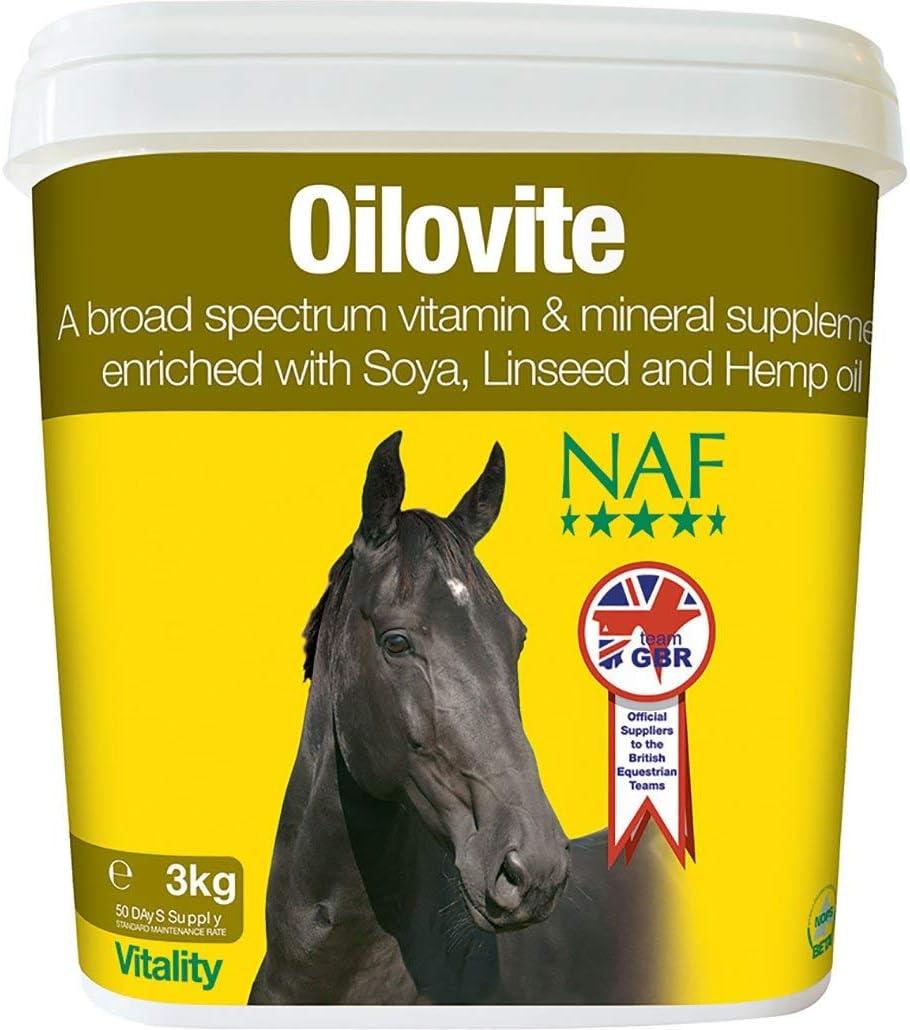 NAF Natural Animal Feeds Oilovite 3 kg – Transparente, 3 kg