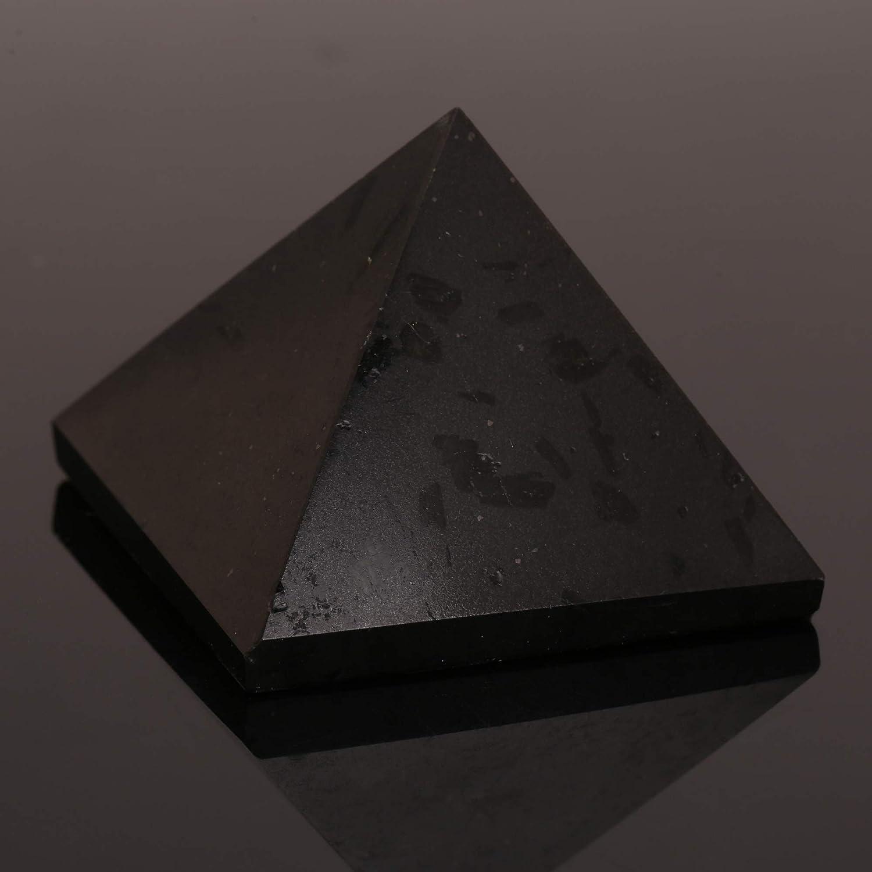Turmalin heilende Kristallpyramide metaphysische Steinfigur 25 MM
