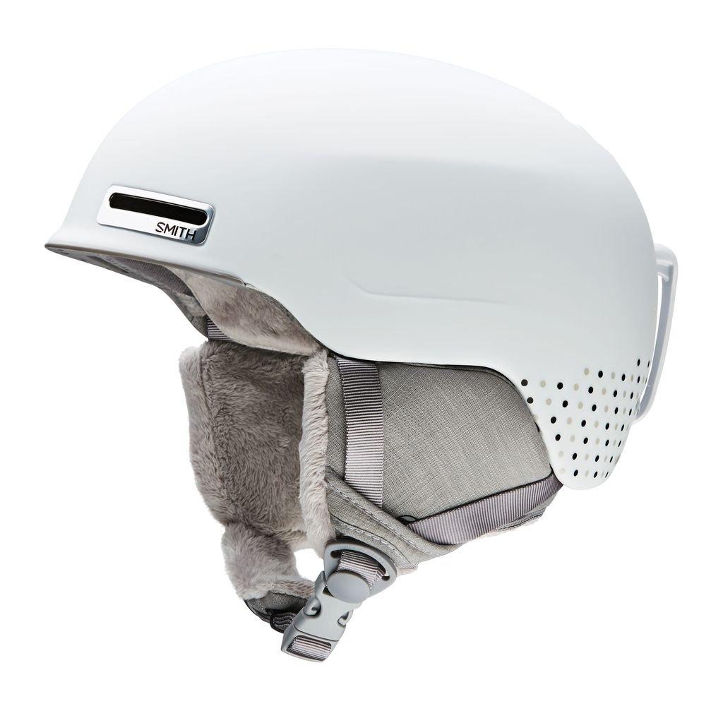 Smith Optics Allure Adult Ski Snowmobile Helmet - Matte White Dots / Large